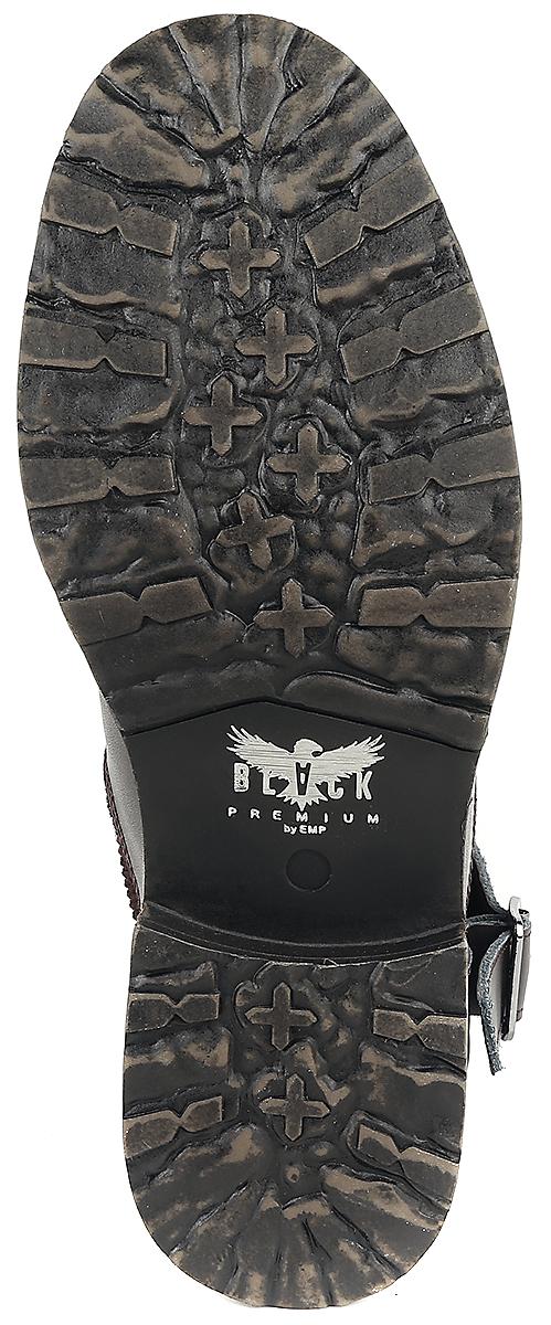 Image of Black Premium by EMP Oldschool Traveler Boots braun