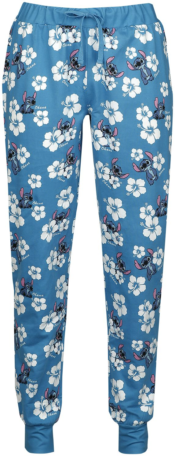 Lilo and Stitch - Hawaii - Pyjama-Hose - multicolor - EMP Exklusiv!