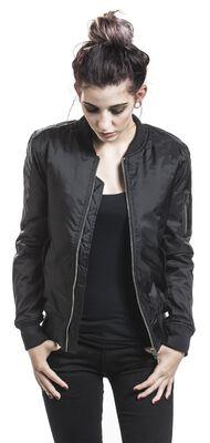 Ladies Basic Bomber Jacket