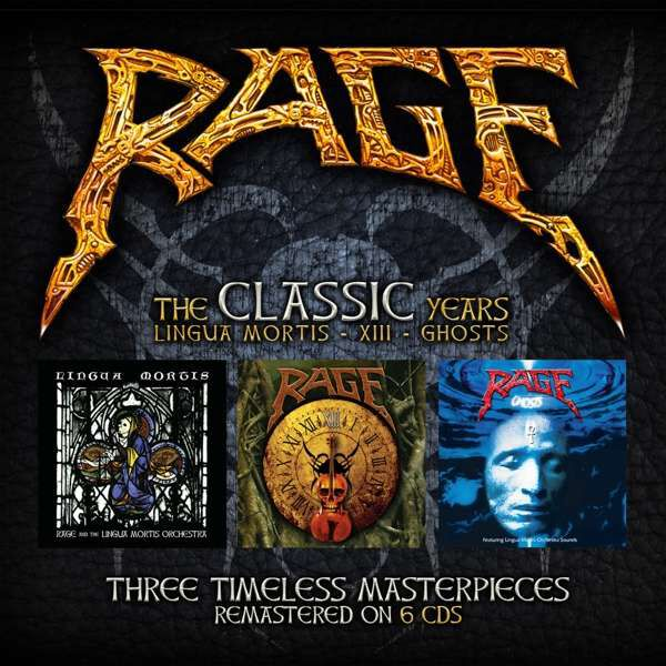 Image of Rage The Lingua Mortis years 6-CD Standard