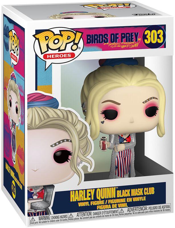Harley Quinn Black Mask Club Vinyl Figure 303