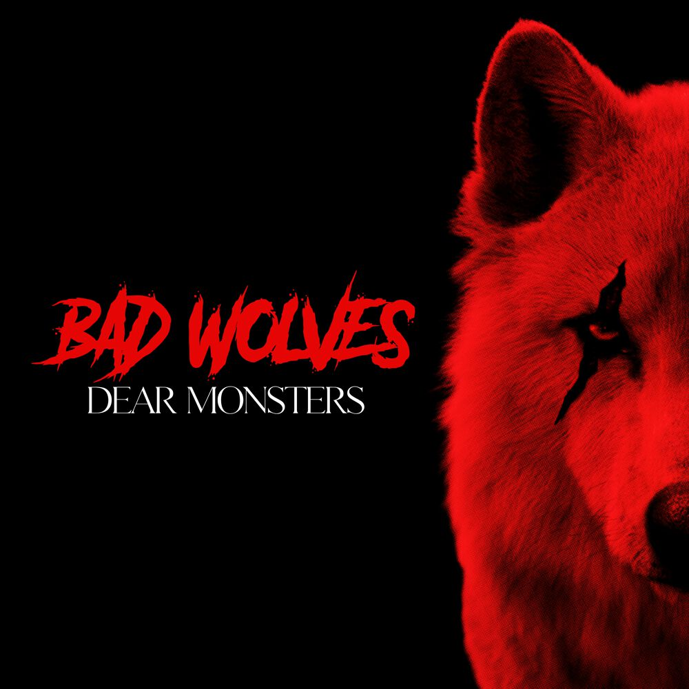 Image of Bad Wolves Dear Monsters CD Standard