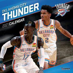Oklahoma City Thunder - Kalender 2021