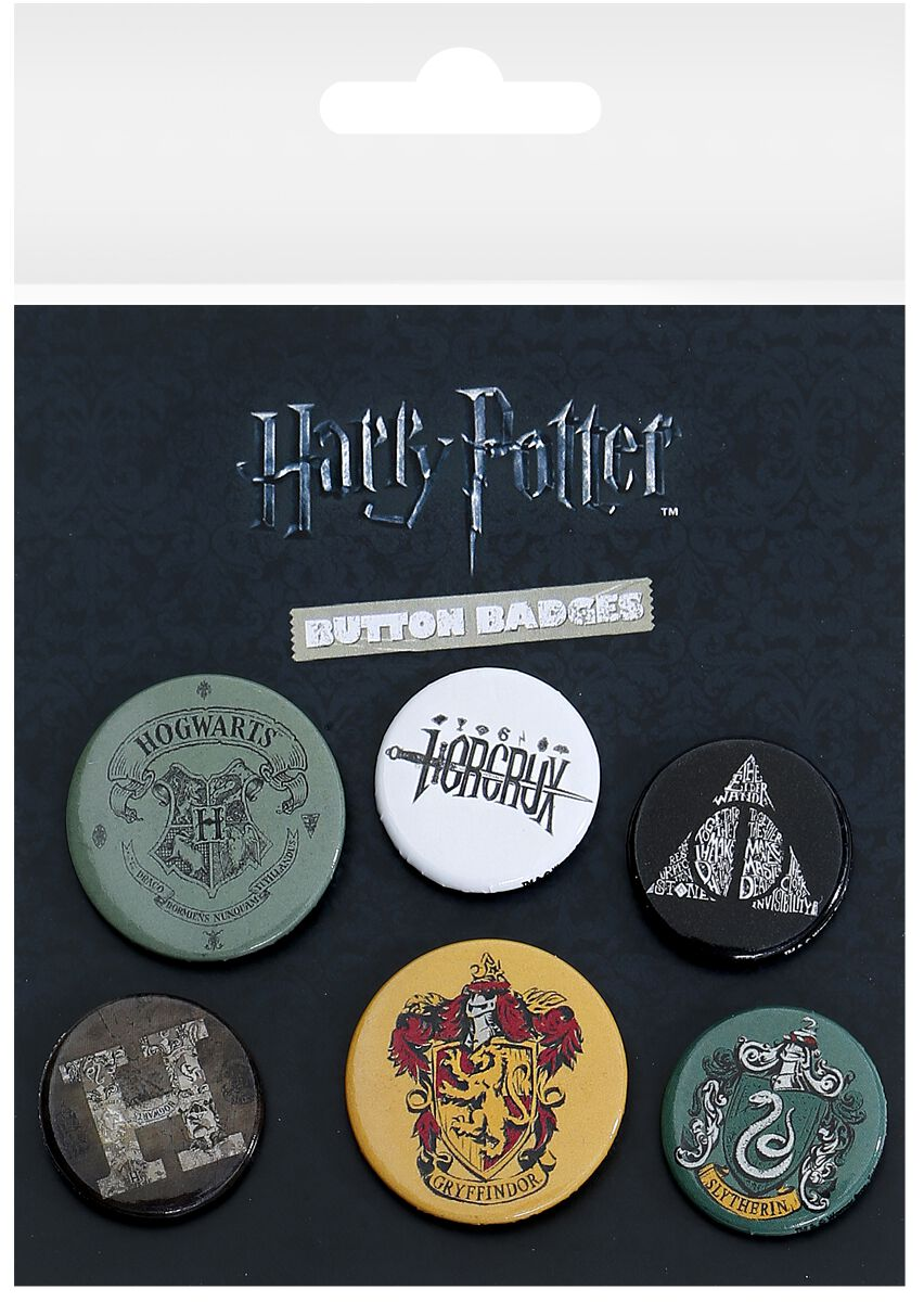 Image of Harry Potter Mix Button-Pack multicolor