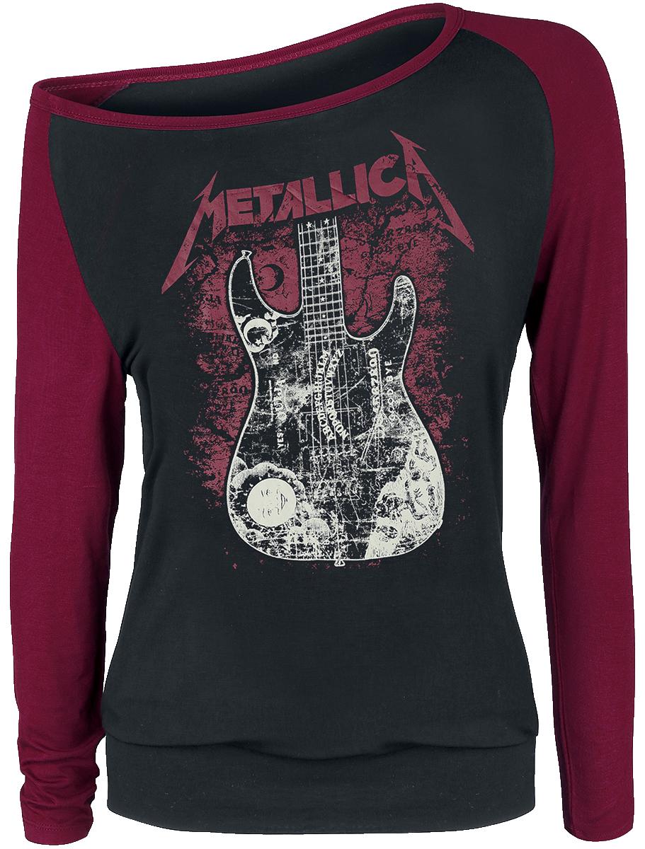 Metallica - EMP Signature Collection - Girls longsleeve - black-bordeaux image