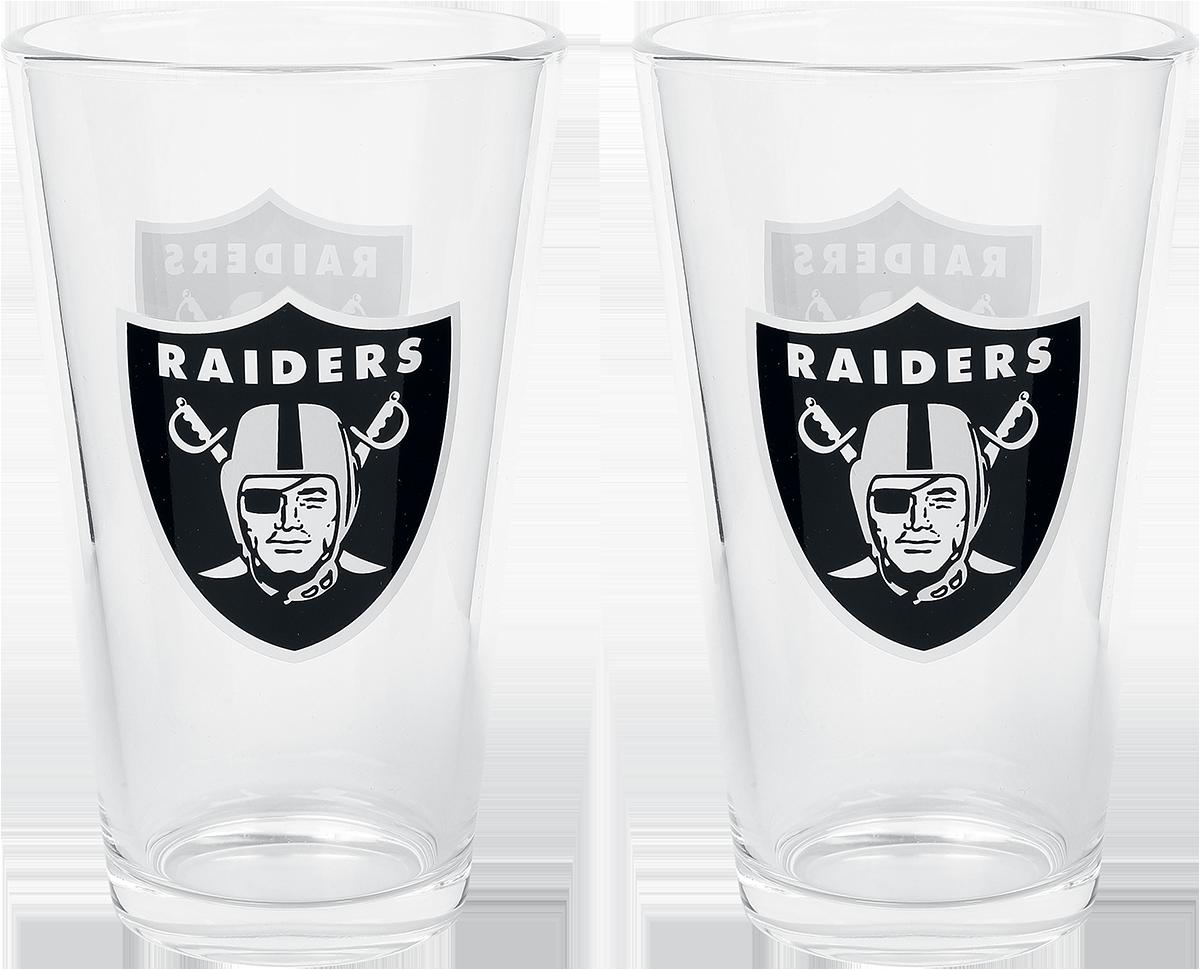 NFL - Las Vegas Raiders - Pint-Glas - multicolor