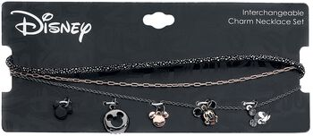 Multi Charm Choker Set