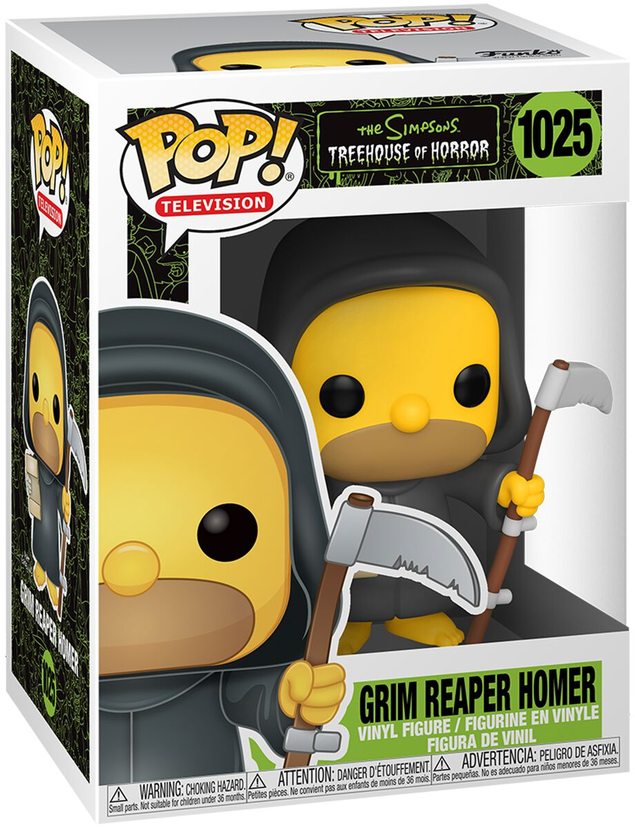 Die Simpsons Grim Reaper Homer Vinyl Figur 1025 Funko Pop! multicolor 50137