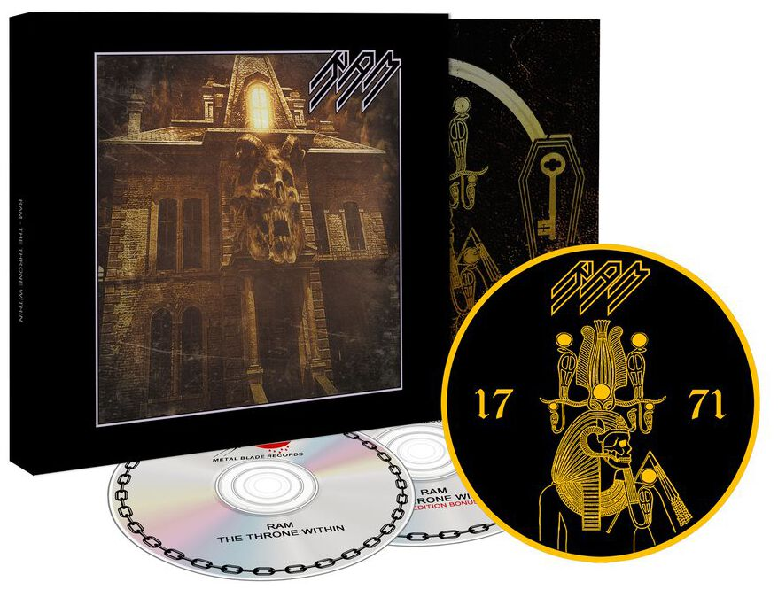 Image of Ram The throne within 2-CD & Patch Standard