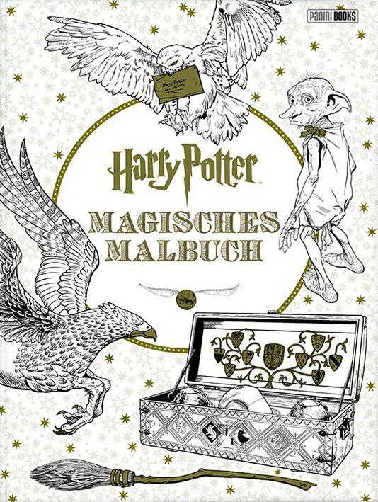 Magisches Malbuch | Harry Potter Spielbuch
