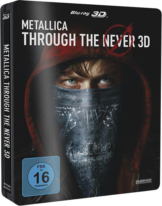 Image of Metallica Through the never Blu-ray 3D (inkl. 2D-Version) Standard