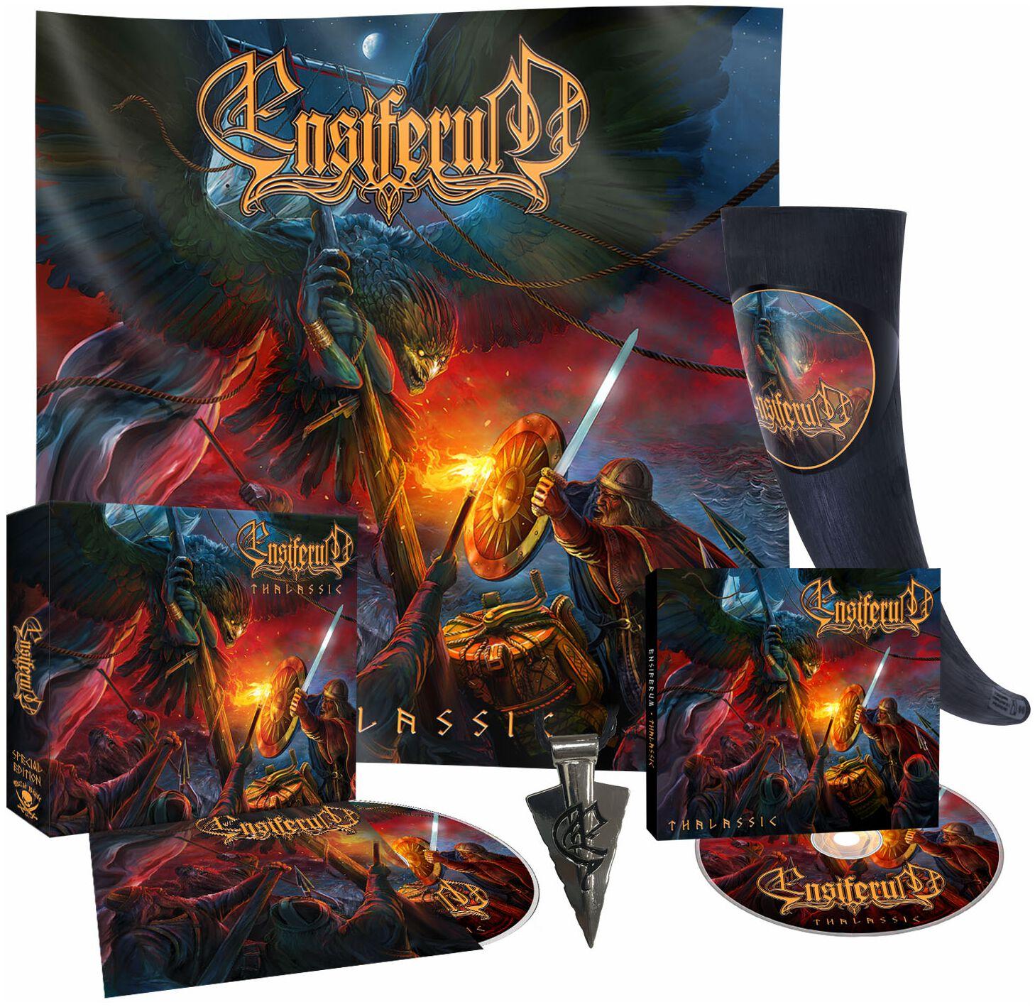 Image of Ensiferum Thalassic 2-CD & Trinkhorn Standard