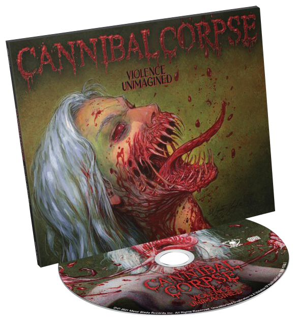 Cannibal Corpse  Violence unimagined  CD  Standard