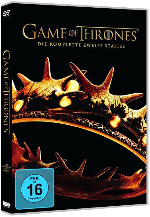Image of Game Of Thrones Die komplette 2. Staffel 5-DVD Standard