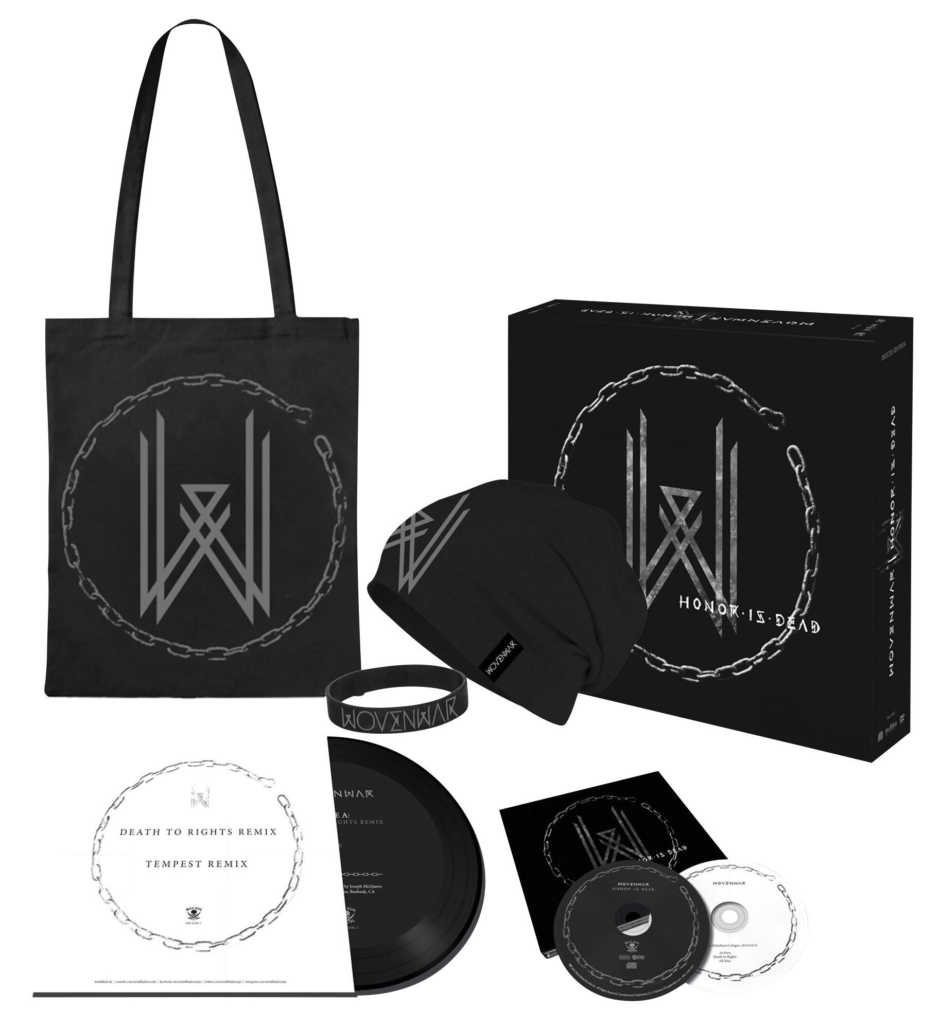 Image of Wovenwar Honor is dead CD & DVD & 7 inch Standard