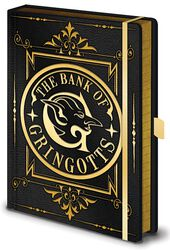 Gringotts - Premium Notizbuch
