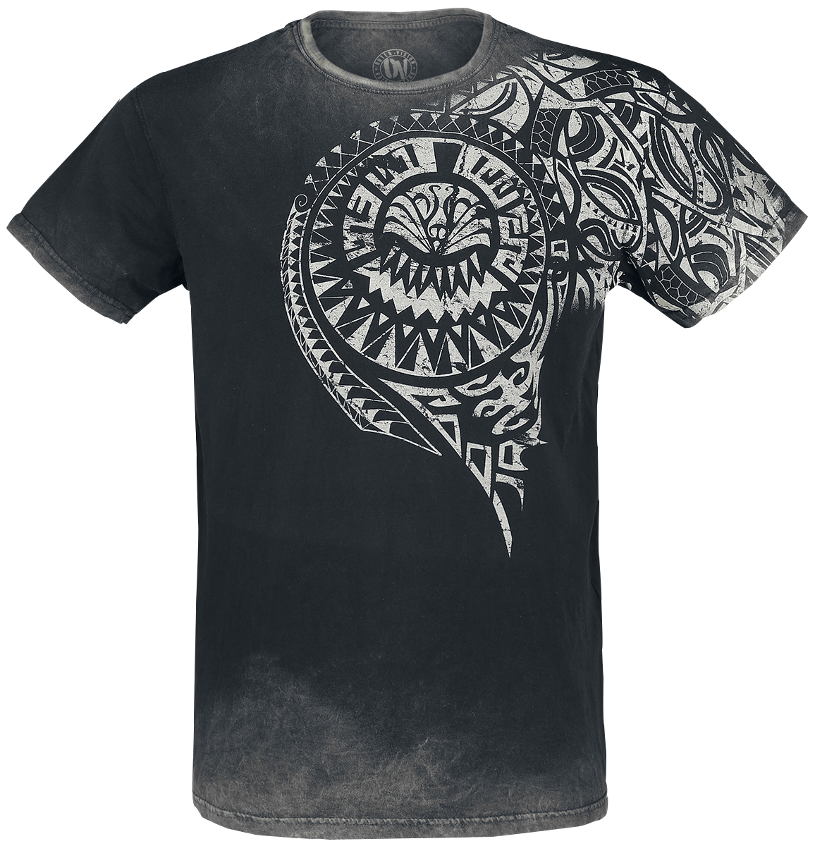 Outer Vision - Burned Tattoo - T-Shirt - grey image