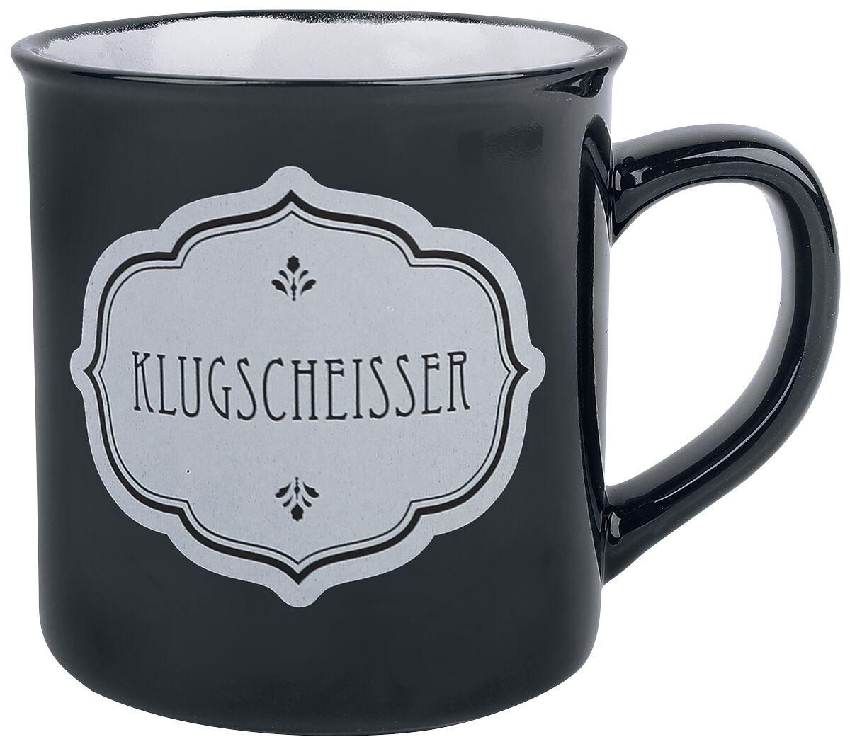 Sag es wie es ist Klugscheisser Tasse multicolor 15988