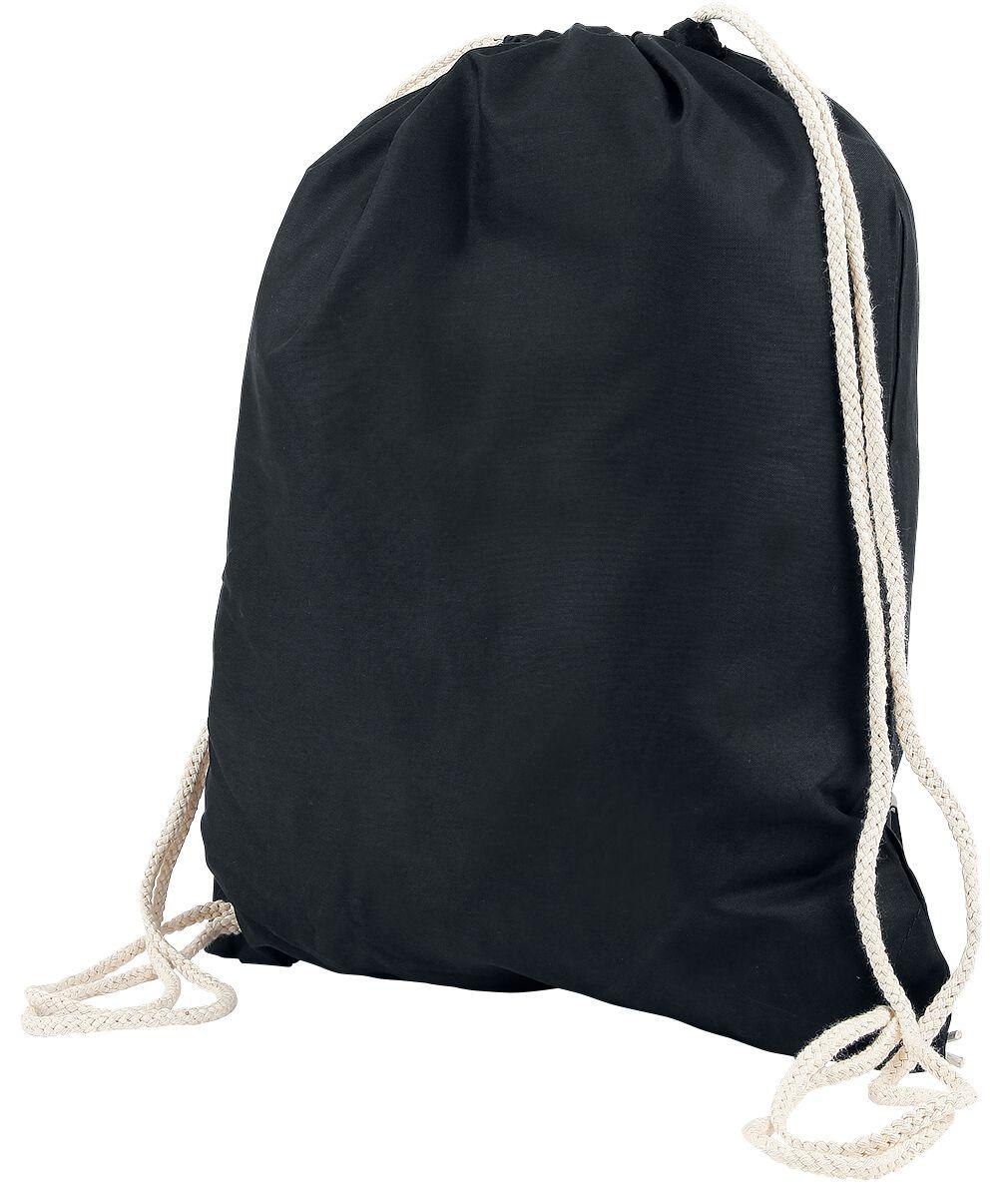 Sporttaschen - Chestnut Drawstring Backpack Turnbeutel schwarz  - Onlineshop EMP