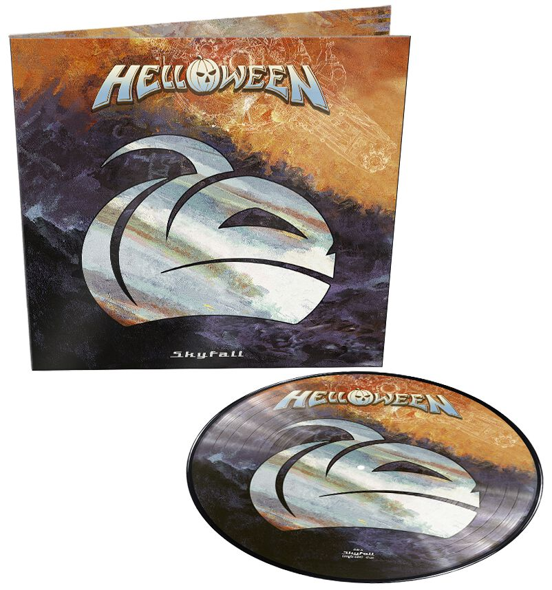 Image of Helloween Skyfall 12 inch-Single Picture