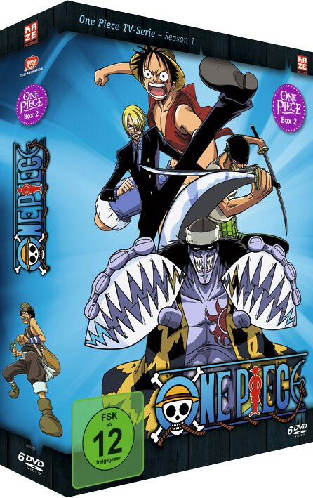 Image of One Piece Die TV-Serie - Box 2 6-DVD Standard