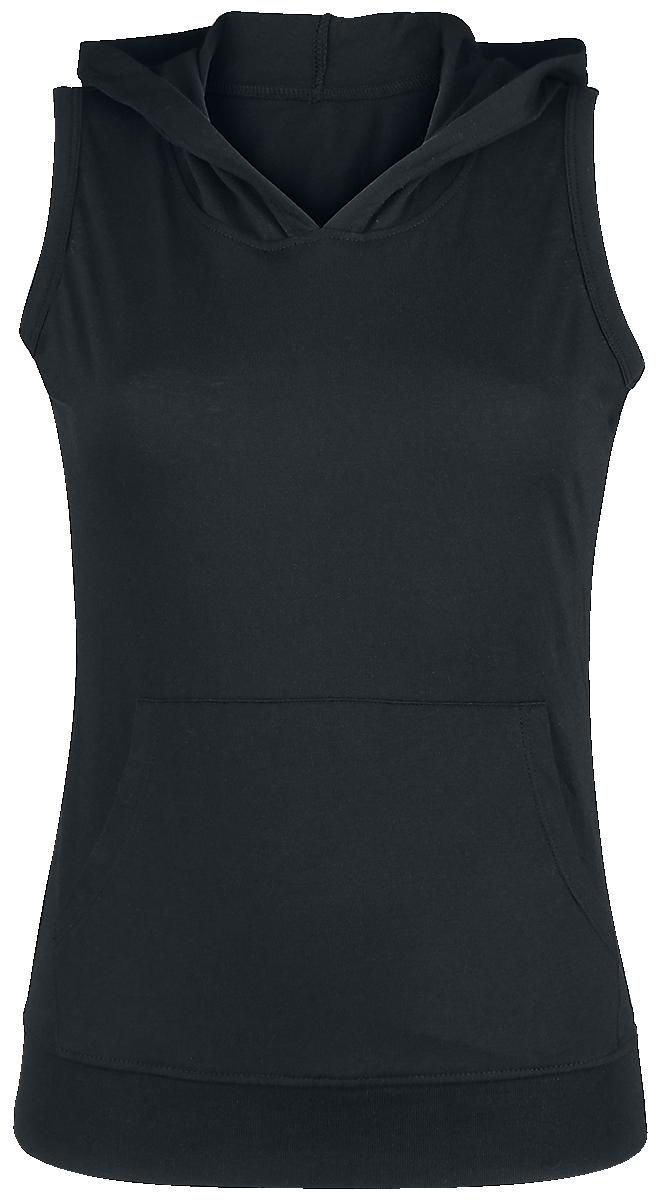Nakedshirt - Cecilia Sleveless Hoody - Girls Top - black image