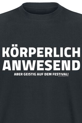 Körperlich anwesend - Gestig auf dem Festival!