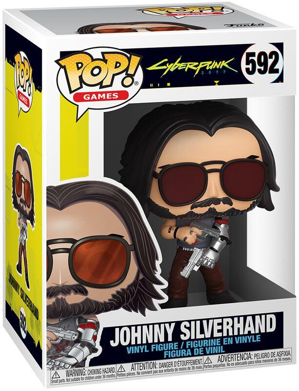 Johnny Silverhand Vinyl Figur 592