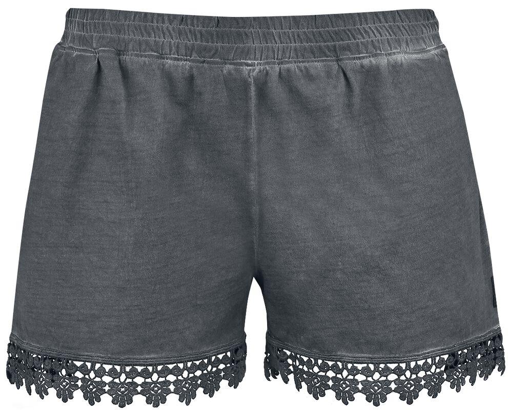 Hotpants mit Spitze