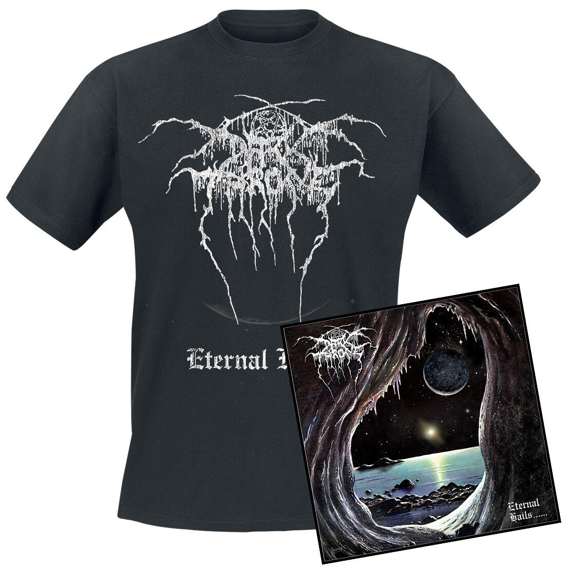 Image of Darkthrone Eternal hails CD & T-Shirt Standard