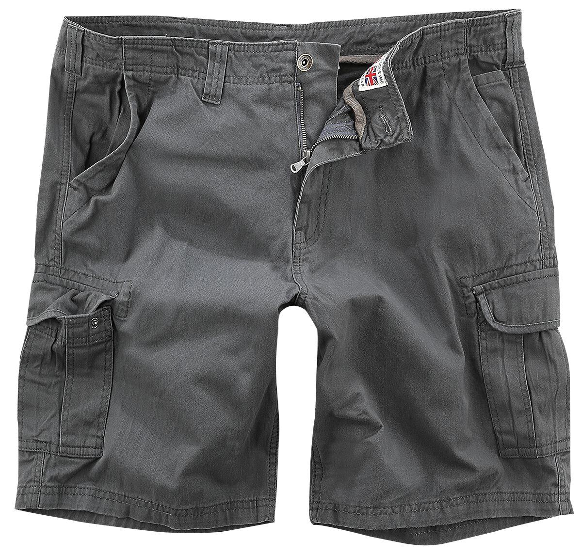 Image of Lonsdale London Wakeman Cargo-Shorts anthrazit