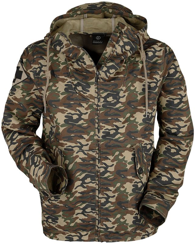 Camouflage-Parka