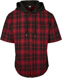 Hooded Short Sleeve Shirt