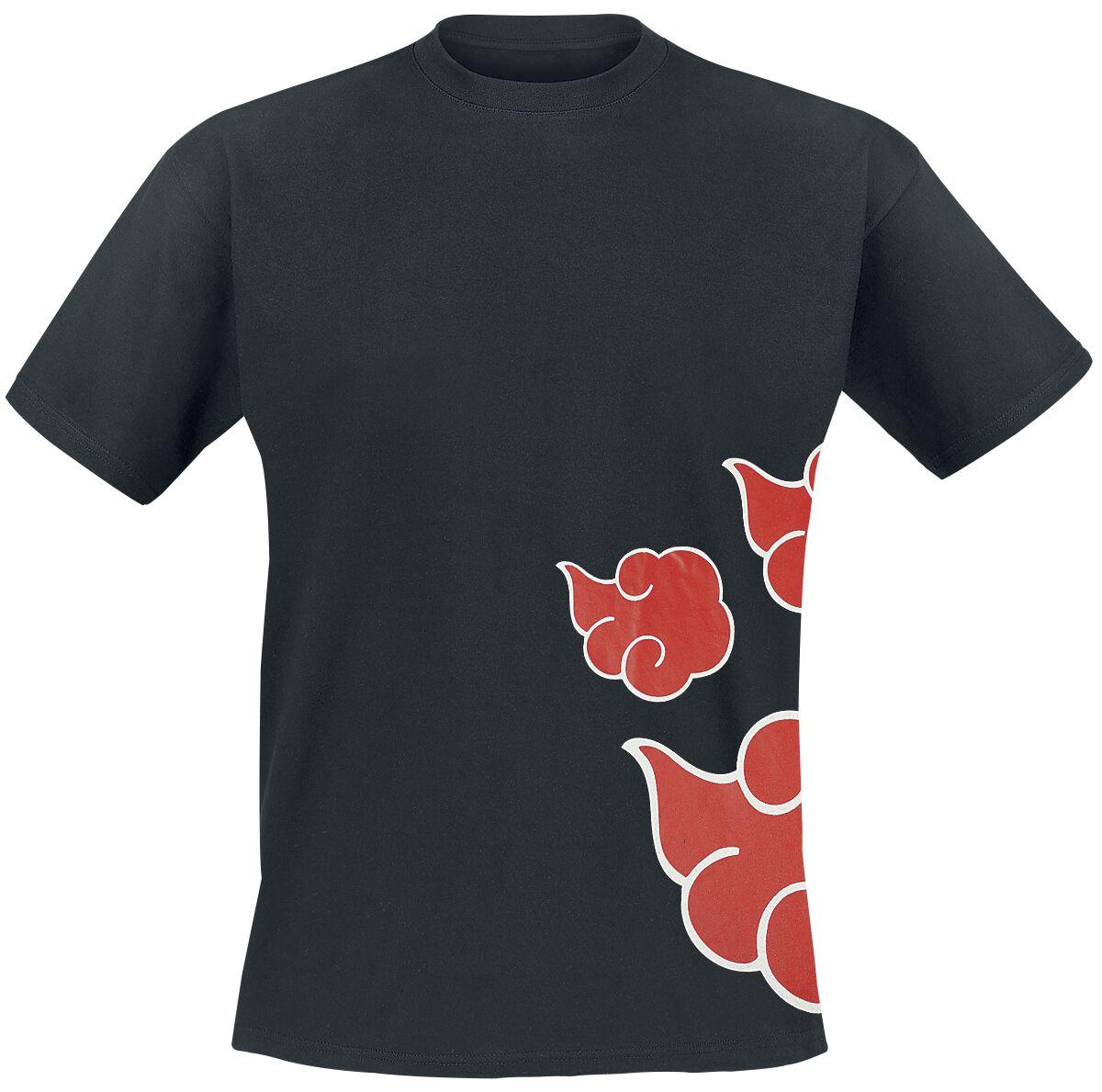 Naruto Wind T-Shirt schwarz MENARUT TS017