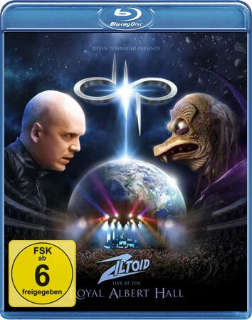 Devin Townsend Project Devin Townsend presents: Ziltoid live at the Royal Albert Hall Blu-Ray multicolor 0507409