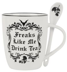 Freaks Like Me Drink Tea