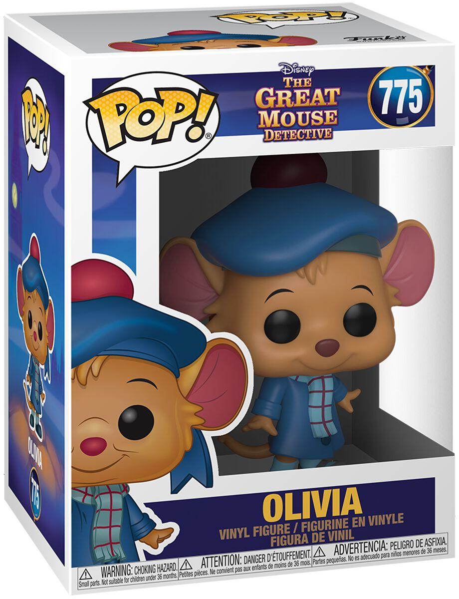 Basil, der grosse Mäusedetektiv  Olivia Vinyl Figur 775  Sammelfigur  Standard