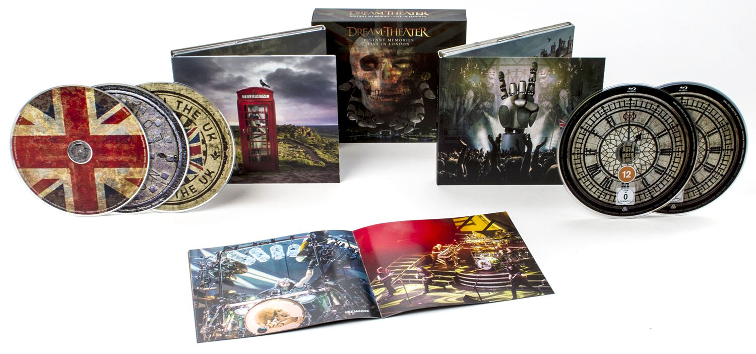Image of Dream Theater Distant memories - Live in London 3-CD & 2-Blu-ray Standard