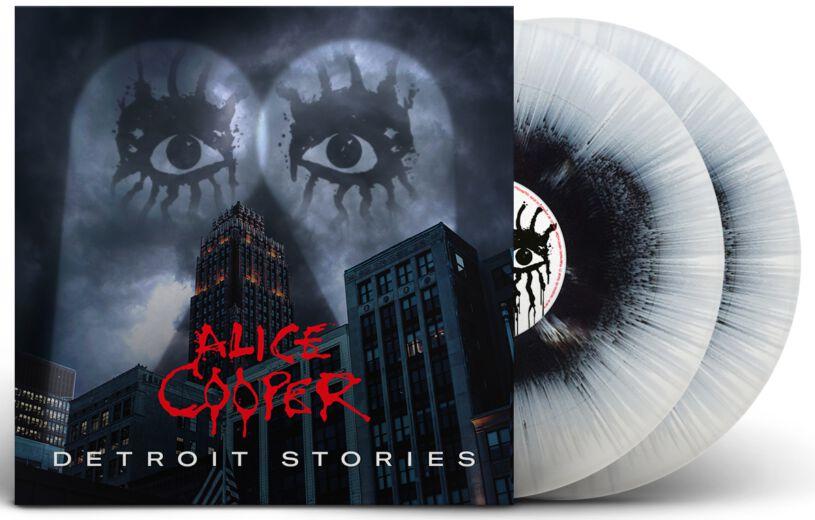 Image of Alice Cooper Detroit stories 2-LP splattered