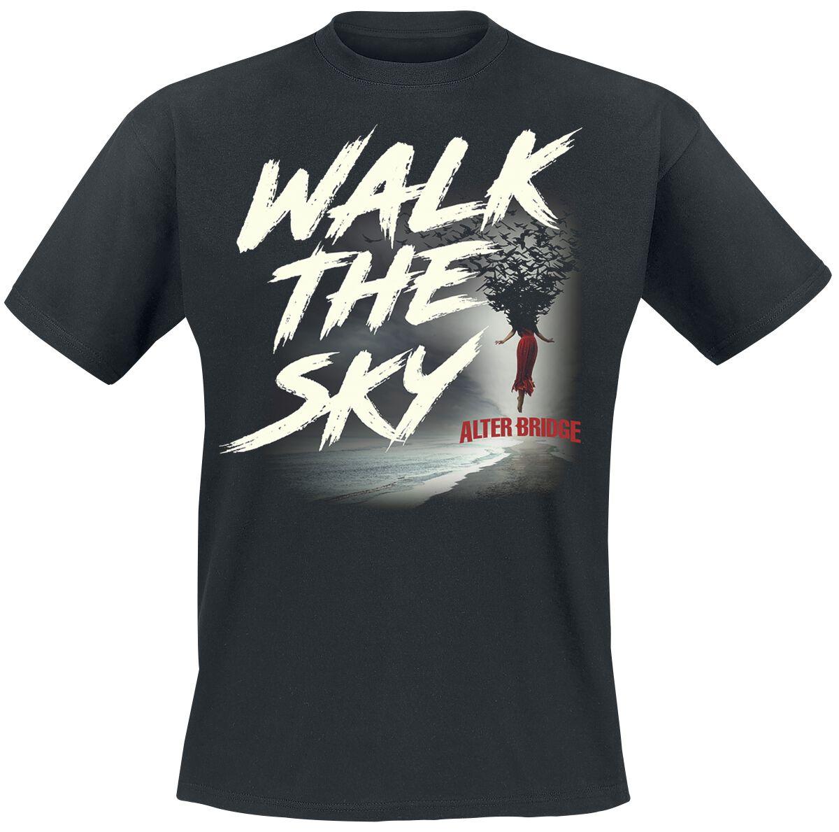Image of Alter Bridge Walk the sky T-Shirt schwarz