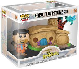 Familie Feuerstein Fred Flintstone with House (POP! Town) Vinyl Figure 14