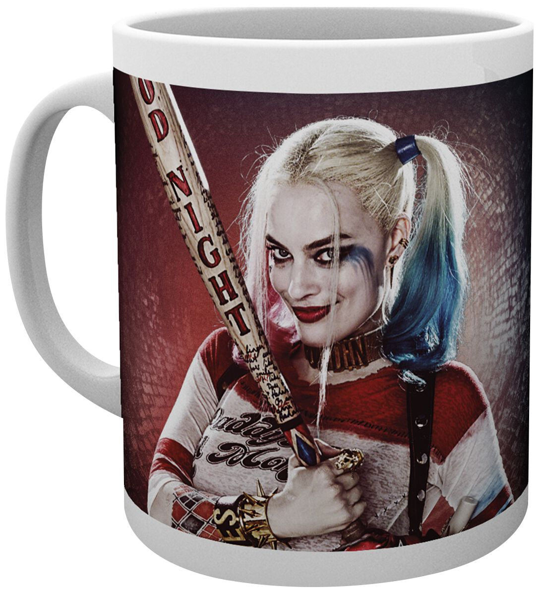 Suicide Squad Harley Quinn - Daddy's Little Monster Tasse weiß MG1358