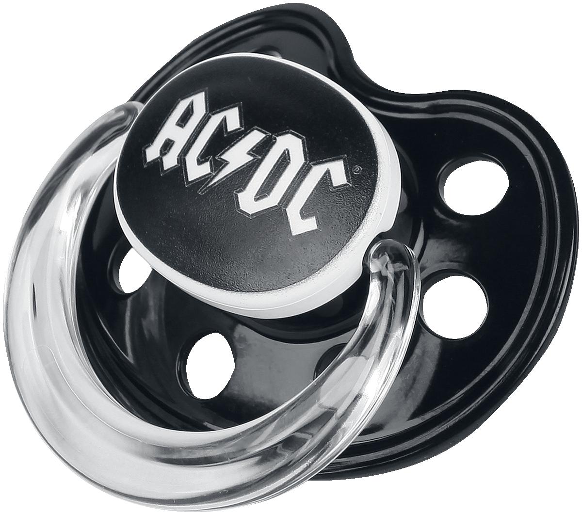 AC/DC - AC/DC Logo - Schnuller - schwarz