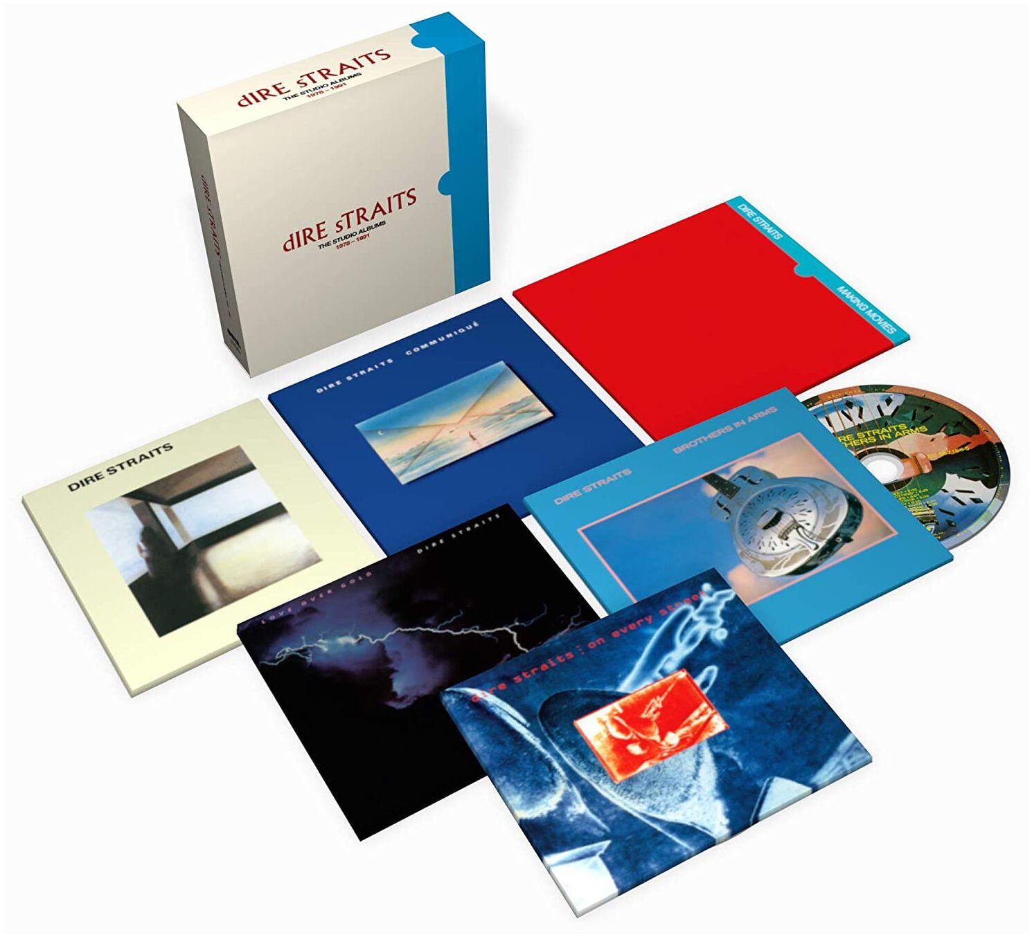 Image of Dire Straits The studio albums 1978-1991 6-CD Standard