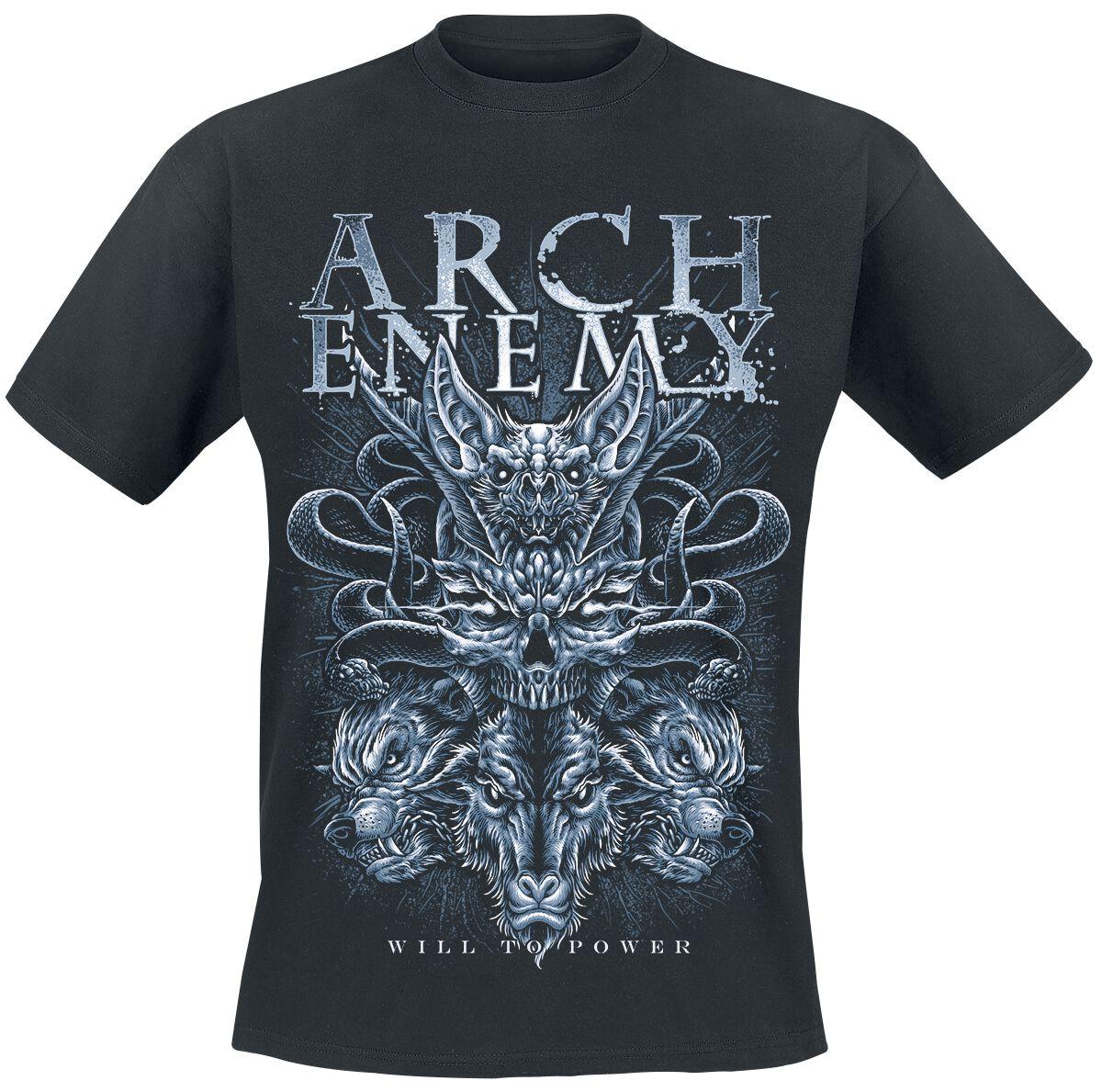 Image of Arch Enemy Bat T-Shirt schwarz