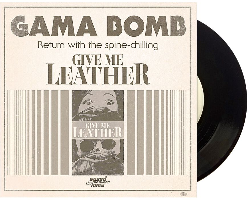 Image of Gama Bomb Give me leather 7 inch-SINGLE Standard