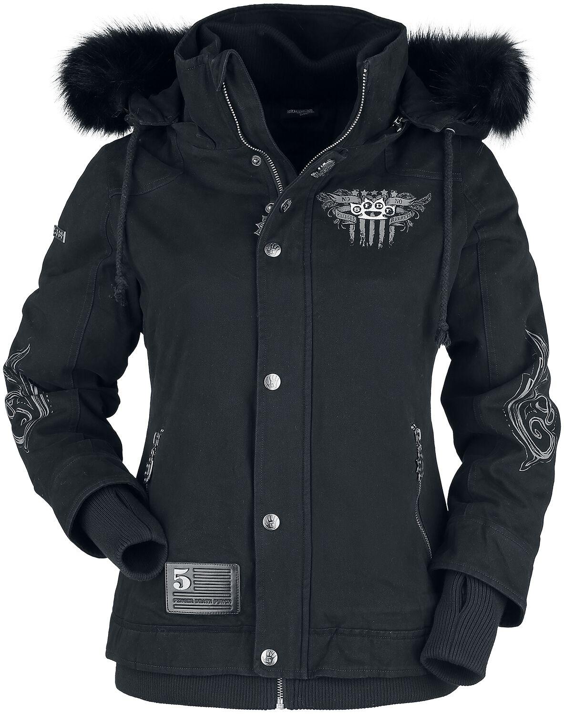 Five Finger Death Punch EMP Signature Collection Winter Jacket black