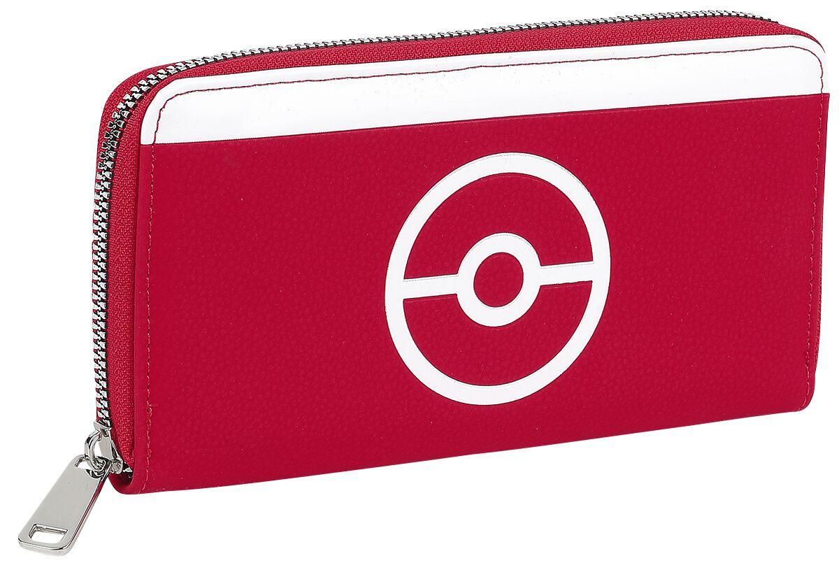 Geldboersen - Pokémon Pokémon Trainer Geldbörse rot schwarz weiß  - Onlineshop EMP