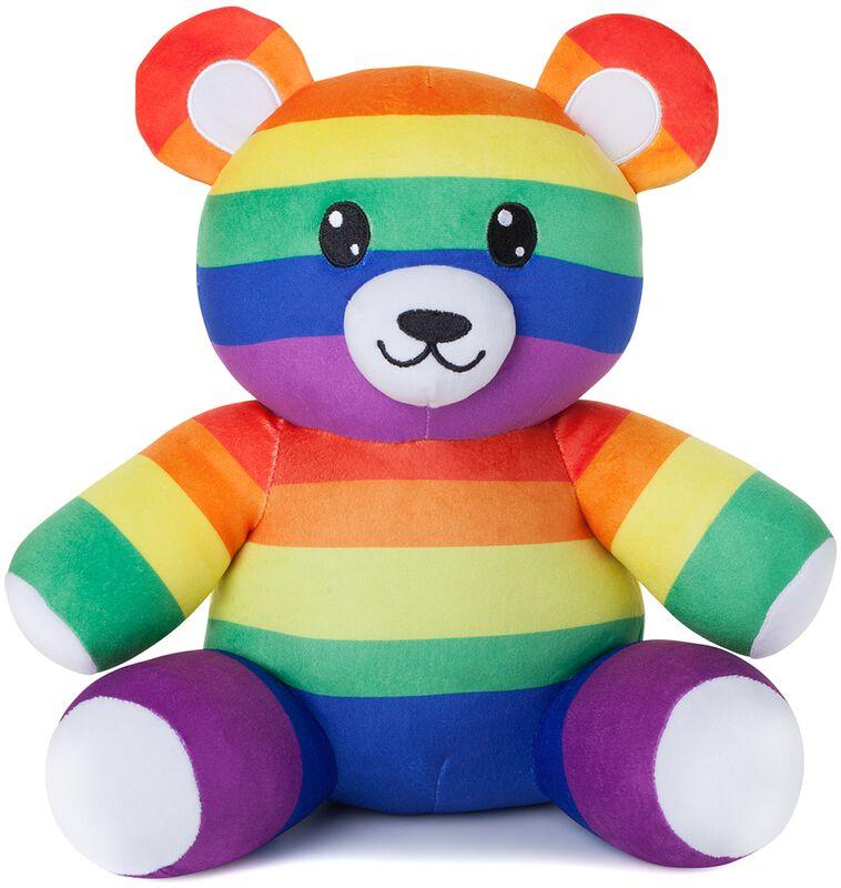 Quinn der Rainbow Teddy Plüschfigur