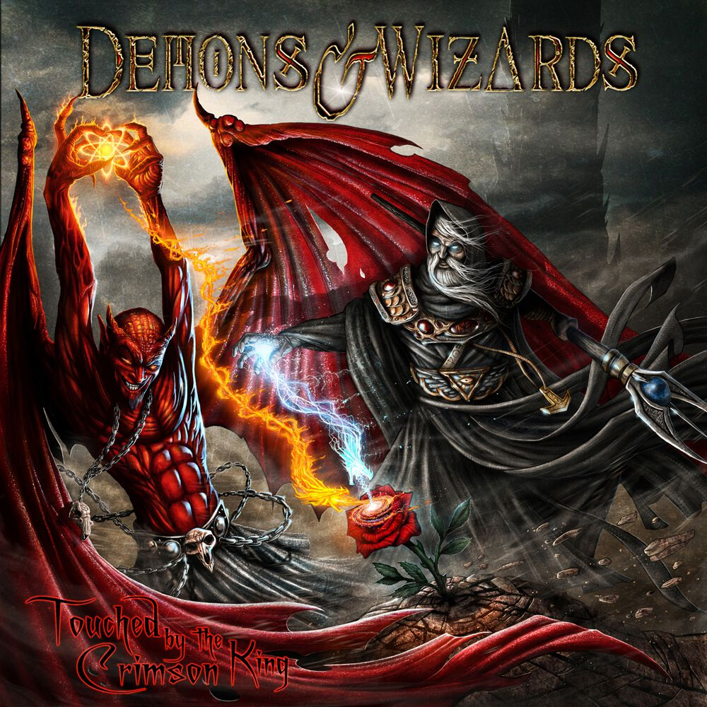 Demons & Wizards  Touched by the crimson king  2-CD  Standard